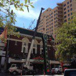 Crane Rental Company for Sign Installations