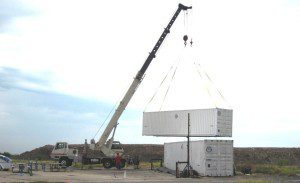 Crane Service for Shipping Containers